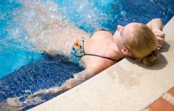 Residence with swimming pool on Lake Garda